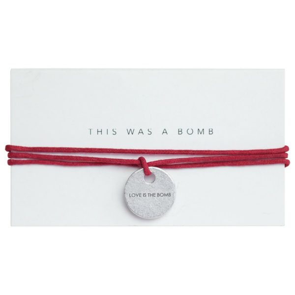 Article 22-PeaceBomb Story Tag Wrap-Red