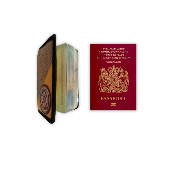 Elephant Branded-Passport Case Wild
