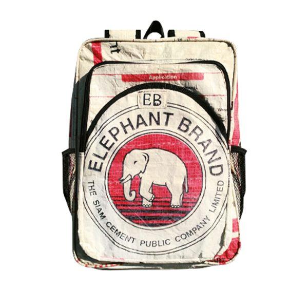 Elephant Branded-Back Pack Adult-Front