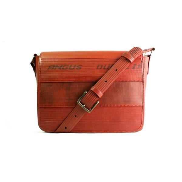 E&K-Bags-Messenger Bag-Red