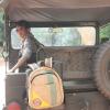 Elephant Branded-Back Pack Wild