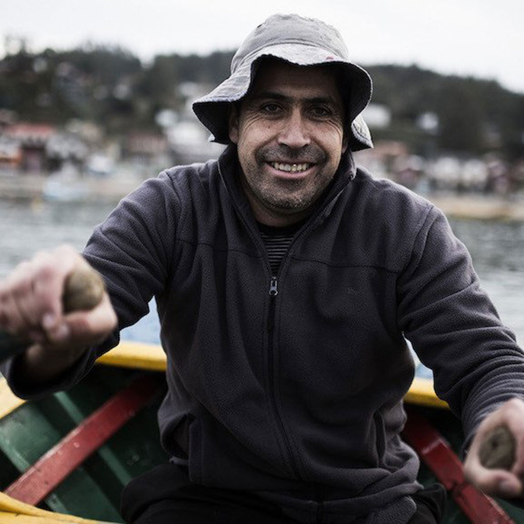 fisherman in Chile