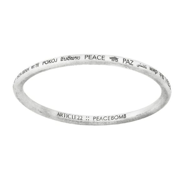 peace all around article 22 bangle