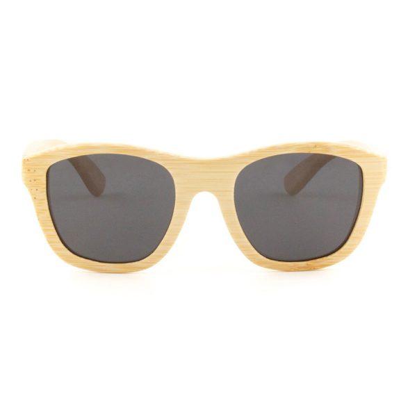 panda bamboo victoria sunglasses natural