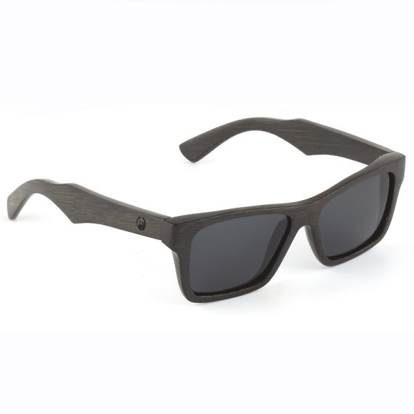Kennedy Panda ethically made bamboo sunglasses in brown - side view