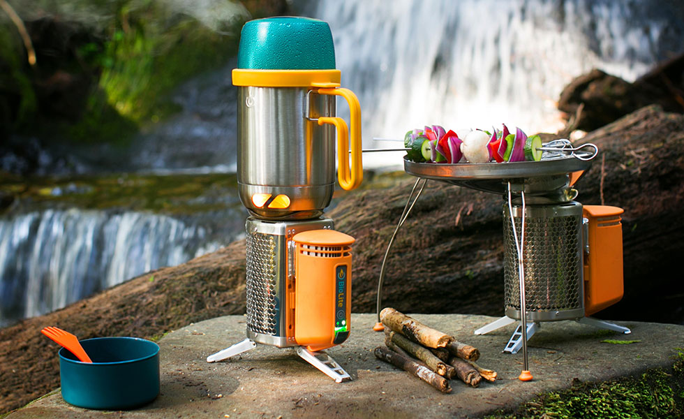 selection of biotite ethical camping products