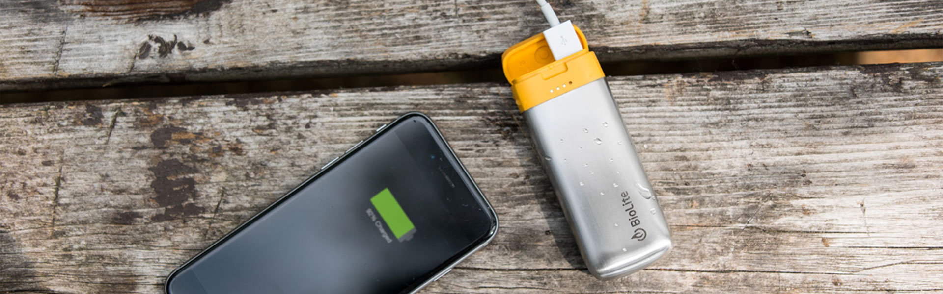 biolite power banks for erthical and sustainable corporate gifting
