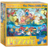 kids 3 little pigs jigsaw puzzle made from recycled card