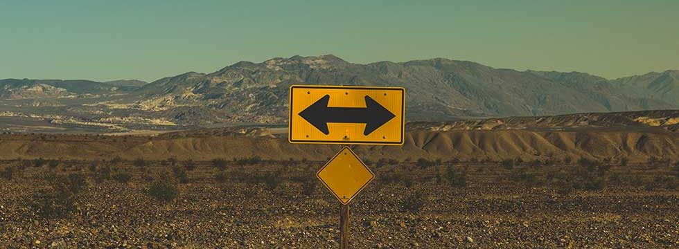 signposts heading in different directions
